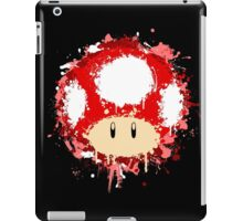 Splash Paint Super Mario Mushroom iPad Case/Skin