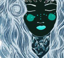 Moon girl Sticker