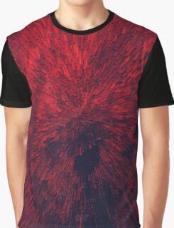 Bold Burst in Brilliant Red Graphic T-Shirt