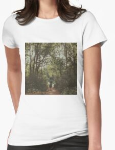 Lonely Path Womens Fitted T-Shirt