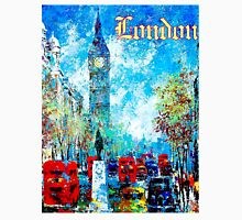 """""""LONDON ABSTRACT"""" Travel and Tourism Print Unisex T-Shirt"""