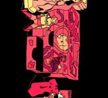 pink - VERTICAL Sticker