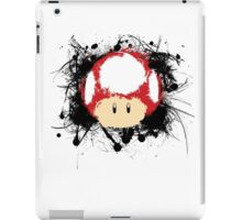 Abstract Super Mario Mushroom iPad Case/Skin
