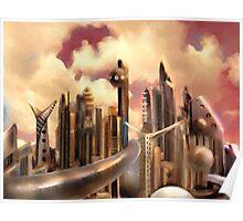 Galactic Metropolis  Poster