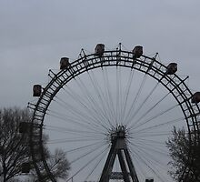 Ferris Wheel in Germany by Charlotte Martina