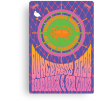 1960's Psychedelic San Francisco Fisherman's Wharf Canvas Print