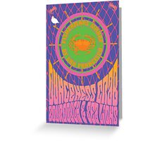 1960's Psychedelic San Francisco Fisherman's Wharf Greeting Card
