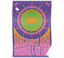 1960's Psychedelic San Francisco Fisherman's Wharf Poster