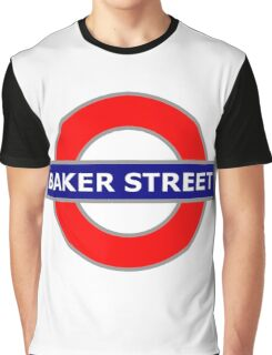 Baker Street 578 Graphic T-Shirt