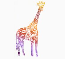 Rainbow Tribal Giraffe Unisex T-Shirt