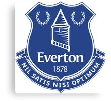 Everton FC Badge Canvas Print