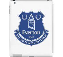 Everton FC Badge iPad Case/Skin