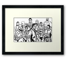 Grand Theft Auto 3 Framed Print