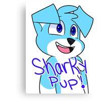 SharkyPup Kipper Canvas Print