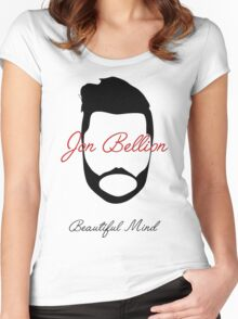 Jon Bellion Beautiful Mind Women's Fitted Scoop T-Shirt
