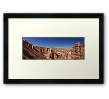 Thor's Hammer, The Three Gossips and Bryce Canyon Panorama Framed Print