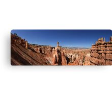 Thor's Hammer, The Three Gossips and Bryce Canyon Panorama Canvas Print