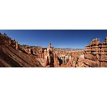 Thor's Hammer, The Three Gossips and Bryce Canyon Panorama Photographic Print