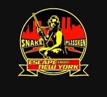 Snake Plissken (Escape from New York) Badge Colour Unisex T-Shirt