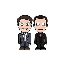 Jack and Ianto (phone case) by redscharlach