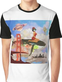 Fly in Fog Graphic T-Shirt