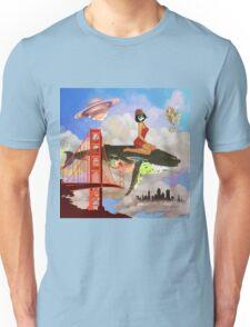 Fly in Fog Unisex T-Shirt
