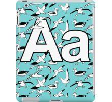 A for Albatross - see our matching poem! iPad Case/Skin