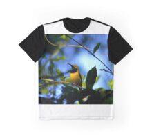 Male  Olive-backed Sunbird (Cinnyris jugularis), Graphic T-Shirt