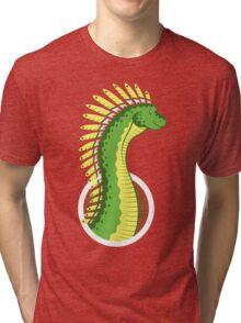 Mohawksaurus Tri-blend T-Shirt