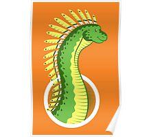 Mohawksaurus Poster