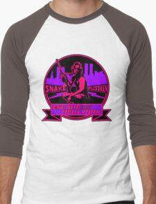 Snake Plissken (Escape from New York) Badge Colour 2 Men's Baseball ¾ T-Shirt