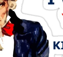 Uncle Sam I want you to Kill for ME Sticker