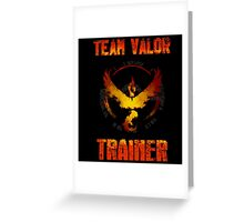 TEAM VALOR, POKÉMON GO  Greeting Card