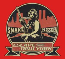 Snake Plissken (Escape from New York) Badge Vintage One Piece - Short Sleeve