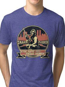 Snake Plissken (Escape from New York) Badge Vintage Tri-blend T-Shirt