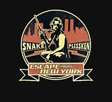 Snake Plissken (Escape from New York) Badge Vintage Unisex T-Shirt