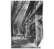 Portland Street Scene Poster