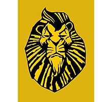 Broadway Poster Style Lion Scar - The Wannabe Lion King Photographic Print