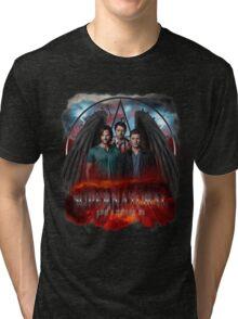 Supernatural Gods Among Us 5 Tri-blend T-Shirt