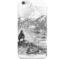 Bear & Misty Mountains iPhone Case/Skin
