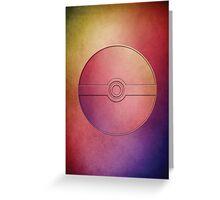 Pokeball | Pokemon Go Greeting Card