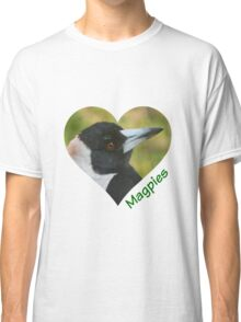 Love Magpies Classic T-Shirt