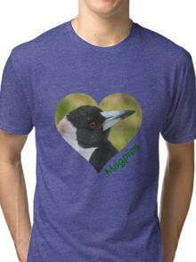 Love Magpies Tri-blend T-Shirt