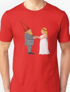 Gnome Wedding Vows Unisex T-Shirt