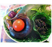 my lil eggplant . . . .  Poster