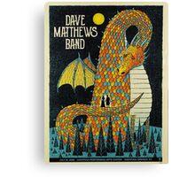DAVE MATTHEWS BAND Tour 2016 - SARATOGA SPRINGS, NY Canvas Print