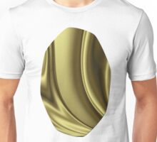 Abstract Fractal Colorways 02 Simple Gold Unisex T-Shirt