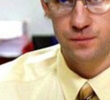 Jim as Dwight Schrute  Sticker