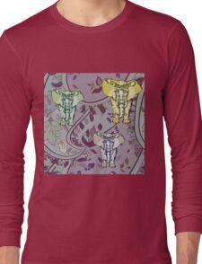 Elephant Garden Long Sleeve T-Shirt