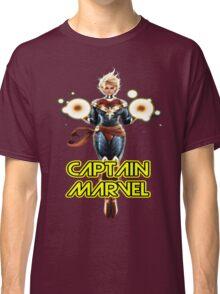 CAPTAIN MARVEL THE WOMAN SUPERHERO Classic T-Shirt